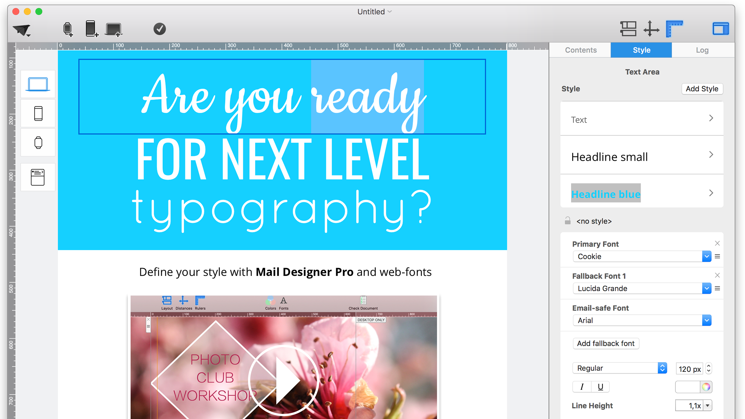 fonts-Mail-Designer-Create-responsive-email-templates