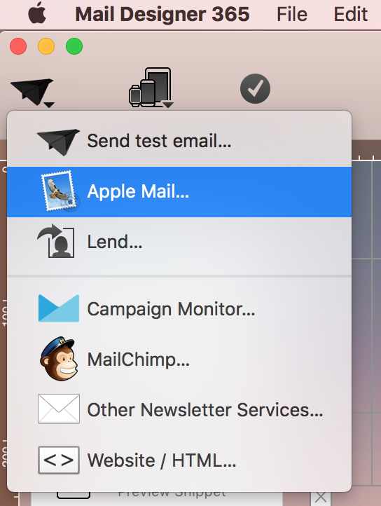 Dein Design als Apple Mail Vorlage abspeichern - Mail Designer ...