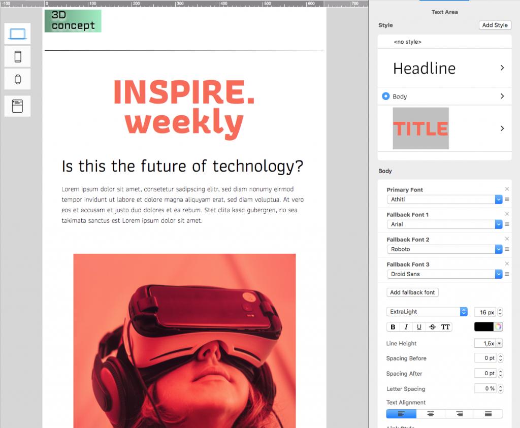 Best Google Fonts for Business Email Designs - Mail Designer