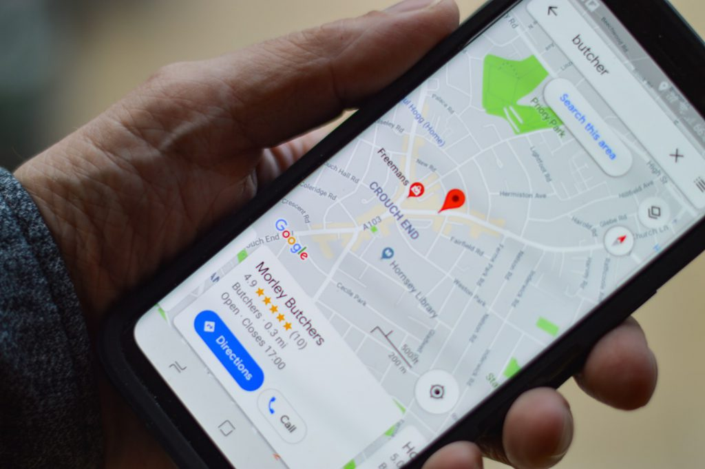 business reviews on google maps