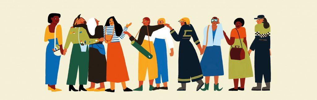 Barcelona City Council Women's Day artwork