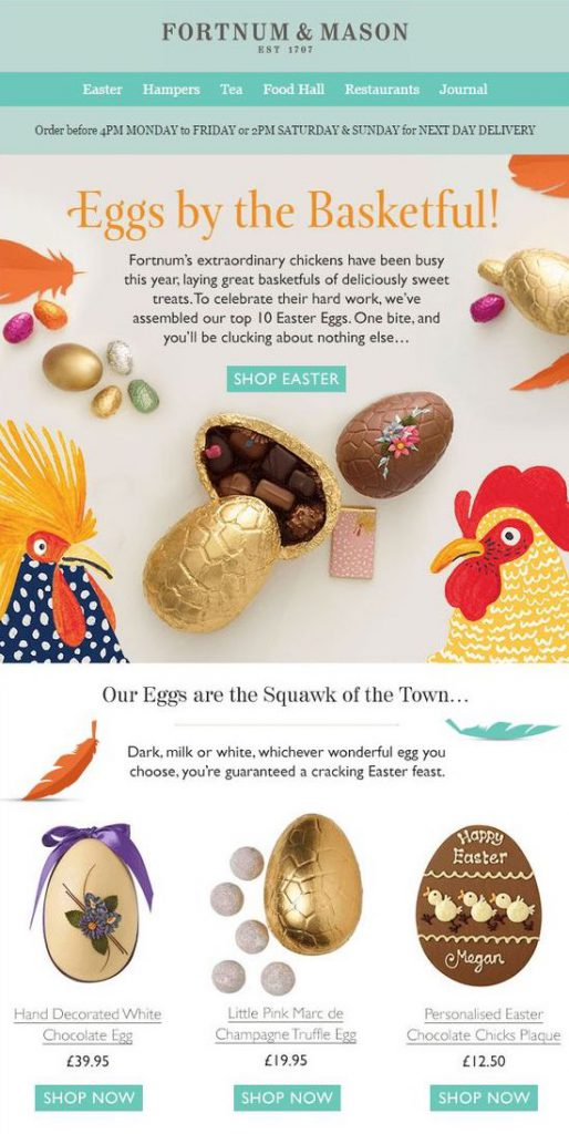 Easter egg buying guide by Fortnum & Mason