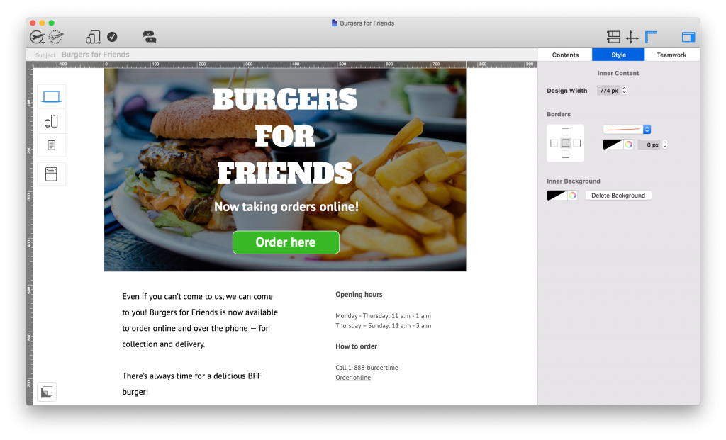 Mail Designer 365 as a small business tool for email marketing