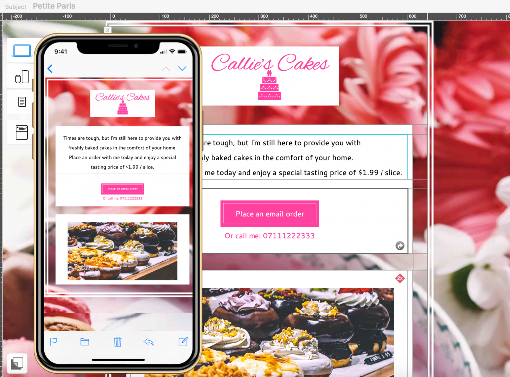 Mobile preview tools in Mail Designer 365