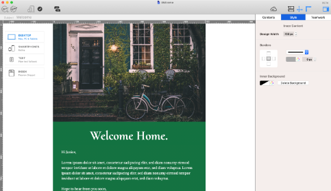 New client welcome email for real estate