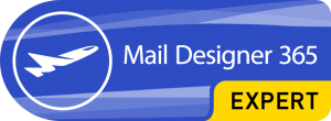 Mail Designer 365 Expert badge
