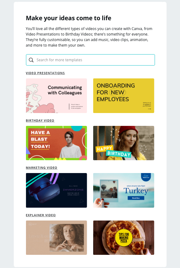 Tutorial email by Canva