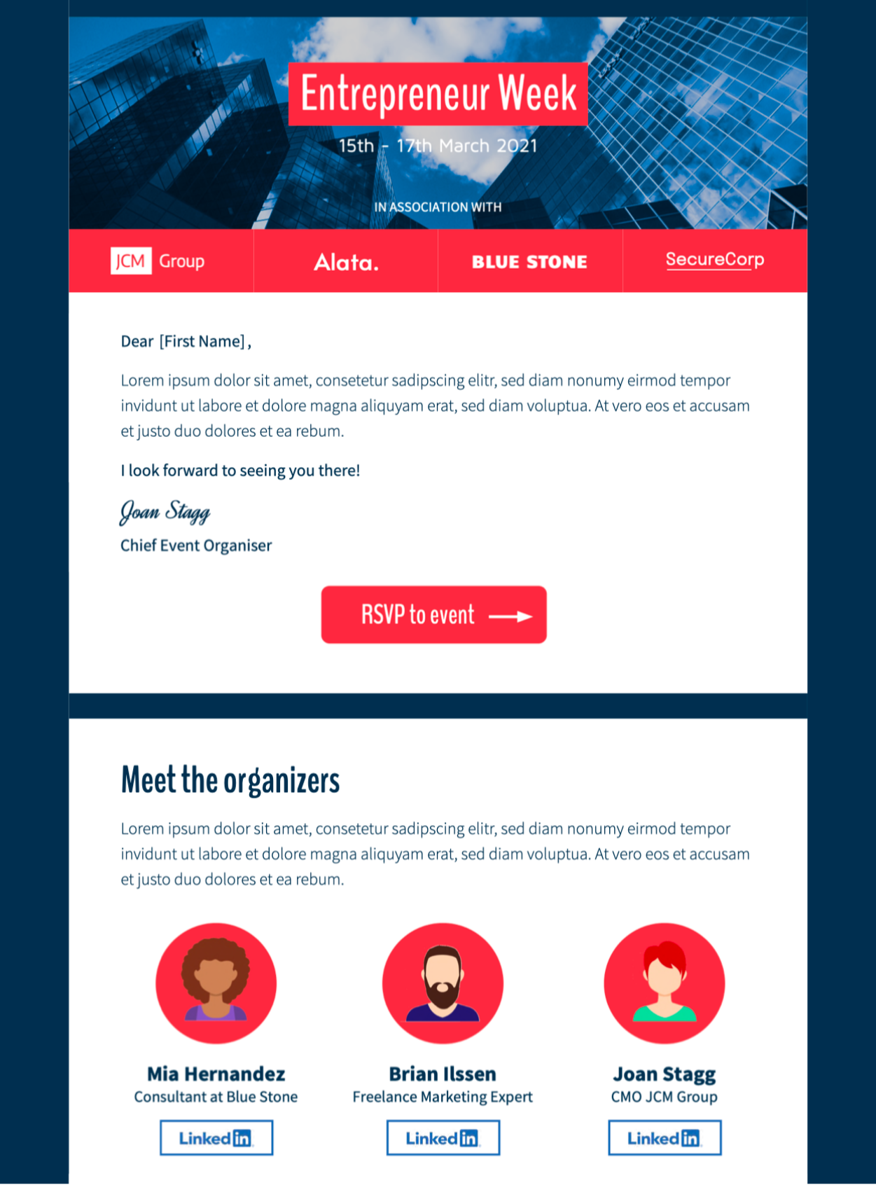 event invitation email template