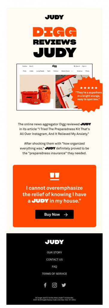 email design by JUDY